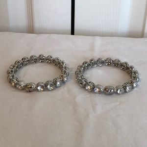 RHINESTONE BANGLE BRACELETS
